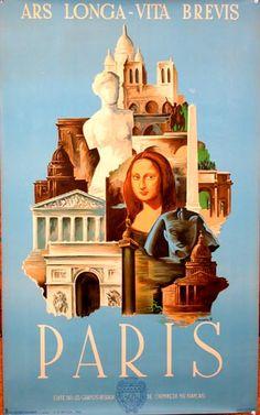 """""""Paris""""  Aliance Graphique - c1930"""