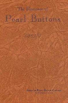 ButtonArtMuseum.com - Book The Romance of Pearl Buttons