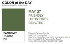 …y el color de hoy es Eneldo, un color amigable, de exterior, devoto. Más info en http://www.pyma.com/tutoriales-y-trucos/y-los-colores-pantone-de-esta-semana-sonsemana-del-23-al-29-de-mayo/