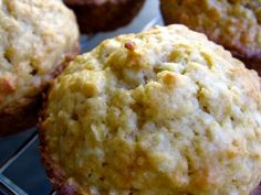 """Skinny Banana Oatmeal Muffin. 5 WW points. Easy enough to make, definitely taste """"skinny"""" and they stick to the cupcake liners, but they're a good snack.  UPDATE: They only stuck to the liners when they were still warm out of the oven.  Once they cooled down, they didn't stick anymore!"""