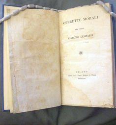 Operette Morali, Giacomo Leopardi | Flickr - Photo Sharing!