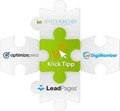 Klick-Tipp-Integrationen zu Landingpage-Tools wie OptimizePress und LeadPages