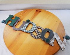 Custom Wood Nursery Letters