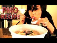 PHO GA - Vietnamese Chicken Noodle Soup ( pho recipe ) - YouTube