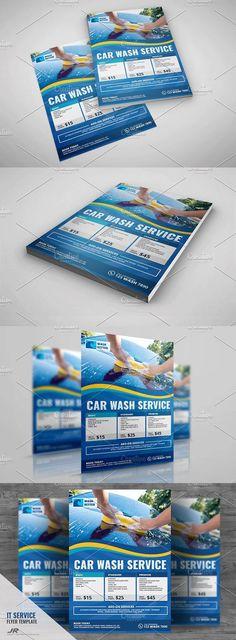 Car Wash Flyer Template Flyer design templates, Car wash and Flyer - car wash flyer template