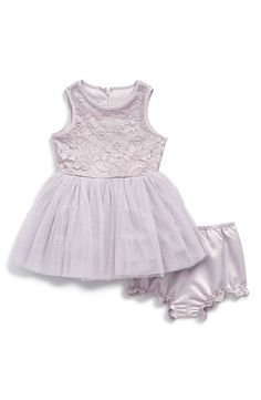 Pippa & Julie Lace & Tulle Dress (Baby Girls) | Nordstrom
