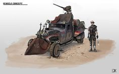 Vehicle concept by AphexTal.deviantart.com on @deviantART