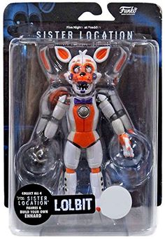 Funko Lolbit Sister Location Five Nights at Freddy's figure Freddy 's, Freddy Plush, Five Nights At Freddy's, Toy Bonnie, Ben 10 Action Figures, Best Christmas Toys, Diy Xmas Gifts, Fnaf Sl, Fnaf Characters