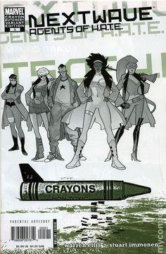 Nextwave Agents of Hate (2006) 5B