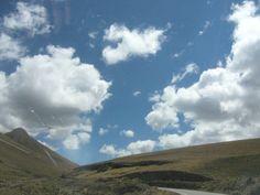 Carretera a Huanuco,es como el ingreso al cielo.