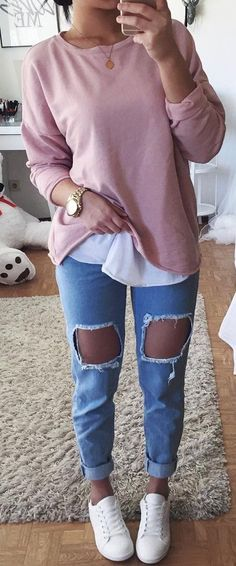 pink blushing white converse
