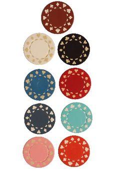 #foursuitechips #pokerchips #differentstyles #differentcolors $0.20 a piece  www.gamblersgeneralstore.com