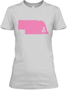 Support the fight against Breast Cancer while representing the great state of Nebraska. $20