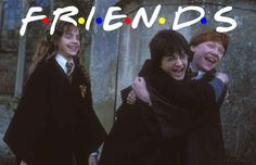 """If """"Harry Potter"""" Were Told Through """"Friends"""" Episodes"""
