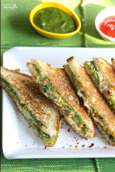 Veg Mayonnaise Sandwich Recipe | visit http://www.mintsrecipes.com