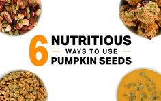 A relative of the squash family, pumpkins are a nutrient-rich plant, offering many uses beyond pie and jack-o'-lanterns. Pumpkin Seed Nutrition, Dog Food Recipes, Healthy Recipes, Healthier Desserts, Healthy Habits, Fall Recipes, Yummy Recipes, Healthy Snacks, Protein