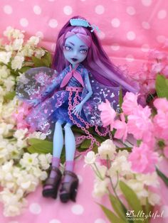 Kiyomi face-up from Dollightful (Katherine Murray) #haunted #monster #high…