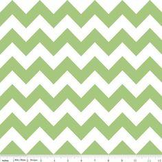 """Streifenstoff """"Cotton Ombre"""", Riley Blake, grün"""