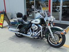 2010 Harley-Davidson FLHR - Road King Police Touring , Green/White, 15,444 miles for sale in South Daytona, FL
