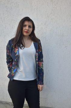 OOTD Pantaloni skinny Bonprix - Lucruri interesante Ootd, Skinny, Ruffle Blouse, Women, Fashion, Moda, Fashion Styles, Thin Skinny, Fashion Illustrations