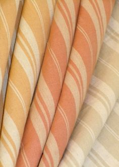 Deck Stripe Decorating Fabrics, Colors Butterscotch, Adobe or Mineral, quality traditional interior design fabric discounted to $14.95 a yard from our Erie Islands Fabrics design with the Basics collection http://store.schindlersfabrics.com/destdefa.html