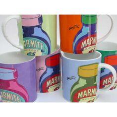 Marmite mugs. Love them or hate them?   Plates   Pinterest   Marmite