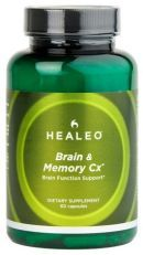 Healeo Brain and Memory Cx is a blend of herbal extracts created to increase attention level. This remedy is composed of botanical extracts such as Ginkgo and Bacopin. Ginkgo's generally acknowledged health benefits include enhancement of blood flow and the ability to provide neuro-protection, thus its used as a brain and cognitive function remedy. Bacopin has its effectiveness in the treatment of memory loss and other bacopin benefits.
