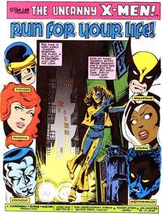 The Uncanny X-men by John Byrne Marvel Comics, Marvel Comic Universe, Marvel Comic Books, Comics Universe, Marvel Characters, Comic Books Art, Marvel Heroes, Comic Book Artists, Comic Artist