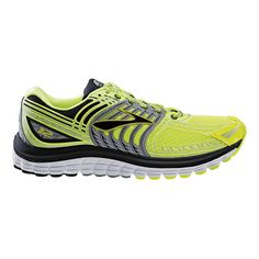 Boost your nighttime visibility while striding in true luxury with the all new Mens Brooks Glycerin 12 Night Life