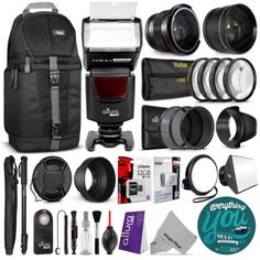 Canon Rebel T5i / EOS 700D Everything You Need Accessory Kit  http://www.ebay.com/itm/231917788404