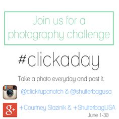 #clickaday June 2014 Photography Challenge
