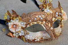 Mask Renaissance Mask Festival Mask Ball Mask by BeautyInBaubles