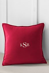 """20"""" x 20"""" Polartec Fleece Decorative Pillow Cover or Insert  Office $18.00"""