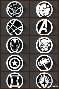 Images of marvel symbols connected circles - Avengers Symbols, Marvel Avengers, Avengers Wallpaper, Gif Pictures, Avengers Infinity War, Circles, Laser Cutting, Tattos, Wedding Decor