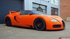 Matte Orange Bugatti Veyron Wrap by JD Customs | automotive99.com