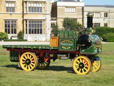 1905 Yorkshire Steam Wagon - one of the 'early' heavy load trucks...