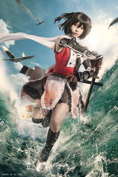 GoBoiano - 30 Amazing Cosplays That Bring Kantai Collection To Life