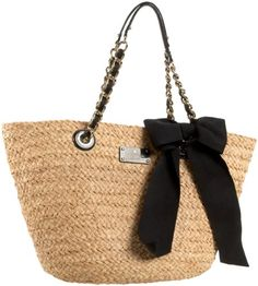 Kate Spade Point Breeze Small Coal with Chain Tote,Natural/Black,one size kate spade new york http://www.amazon.com/dp/B004NWA9D4/ref=cm_sw_r_pi_dp_FvRStb1KARDV739M