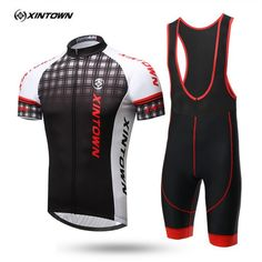 32.87$  Watch now - http://alipth.shopchina.info/go.php?t=32796539274 - XINTOWN 2017 New pattern Mens Short sleeve Cycling Jerseys Summer Mans Bicycle Wear Mountain Bike Clothing Ropa Ciclismo   #aliexpress
