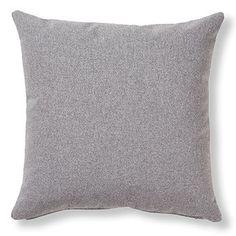 Cojín Kam 45x45 cm, gris