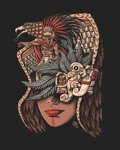 Eagle Warrior Art Print sold by Qetza. Shop more products from Qetza on Storenvy, the home of independent small businesses all over the world. Eagle Face, Aztecas Art, Latino Art, Aztec Culture, Mexican Folk Art, Mexican Men, Canvas Prints, Art Prints, Art Inspo