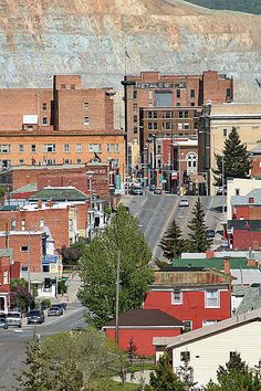 Butte, Montana - Home of Montana Tech, where one of my sons got his B.S. and M.S. in Electrical Engineering.