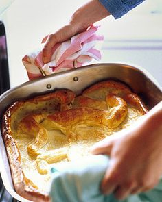 will try this with my roast beef next time...Yorkshire Pudding - Martha Stewart Recipes