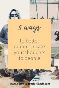 5 ways to better communicate your thoughts to people - Your Little Social Coach Coping With Stress, How To Relieve Stress, What Is Emotional Intelligence, Human Body Activities, Public Speaking Tips, Improve Communication, Life Advice, Self Confidence, Social Skills