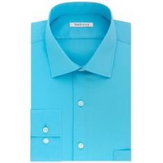 Van Heusen Big and Tall Classic-Fit Flex-Collar Solid Dress Shirt ($25) ❤ liked on Polyvore featuring men's fashion, men's clothing, men's shirts, men's dress shirts, blue ocean, mens banded collar dress shirts, big tall mens shirts, van heusen mens dress shirts, mens stretch dress shirt and mens collared shirt