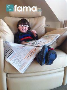 Fama sofás para disfrutar en casa - Grandad's Glasses, Grandad's Paper, Grandad's Chair