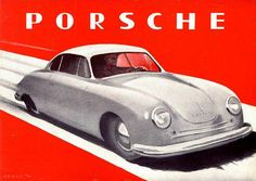 red - just love the old Porsche Roadster, a good image would be nice the real thing? Perfect with the dream home.