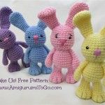 Crochet Little Big Foot Bunny Free - INSPIRATIONAL CROCHET