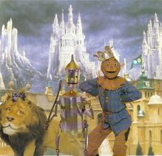 Return to Oz - Lion Tin Woodman & Scarecrow | by Walt Disney's Return to Oz