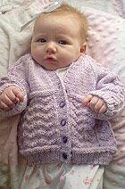 FREE PATTERN...Wavy Baby Sweater